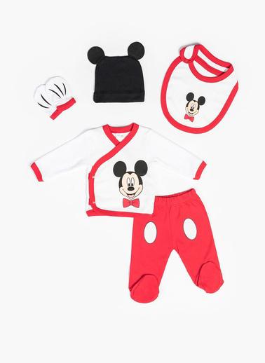 Mickey Mouse Hastane Çıkışı Beyaz